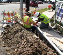 La Cienega Blvd & Fairview Blvd Improvement